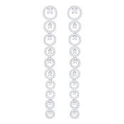 Swarovski Creativity Long Drop Earrings