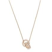Swarovski Further Rose Gold Necklace