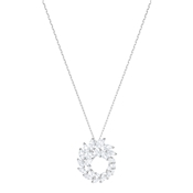 Swarovski Louison Circle Pendant Necklace