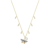 Swarovski Magnetic Butterfly Necklace