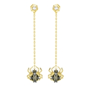 Swarovski Magnetic Spider Earrings