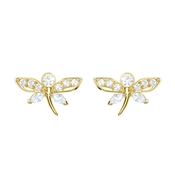 Swarovski Magnetic Dragonfly Earrings