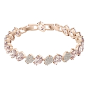 Swarovski Mix Pear Rose Gold Bracelet