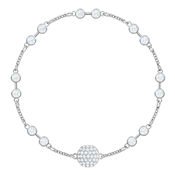 Swarovski Remix Collection Silver Carrier Bracelet