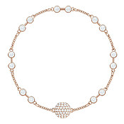 Swarovski Remix Collection Rose Gold Carrier Bracelet