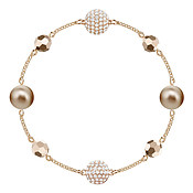 Swarovski Remix Collection Rose Gold Strand Bracelet