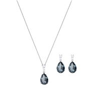 Swarovski Vintage Pear Blue Set