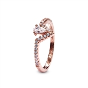 Carat* London Victoria Rose Ring Size M