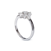 Carat* London Snowflower Camelia Ring Size M