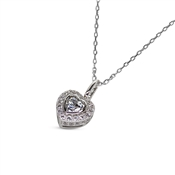Carat* London Amara Heart Necklace