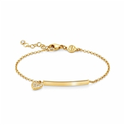 Nomination Gioie Gold Heart Bracelet