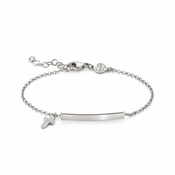Nomination Gioie Silver Cross Bracelet