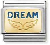 Nomination Gold Angel Dream Charm