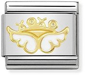 Nomination Gold Angel of Affection Charm