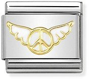 Nomination Gold Angel of Inner Peace Charm
