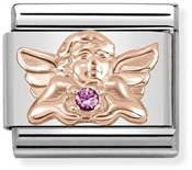 Nomination Rose Gold Angel of Friendship Charm
