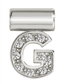 Nomination SeiMia Silver G Initial Letter Charm