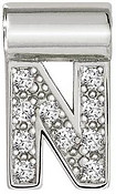 Nomination SeiMia Silver N Initial Letter Charm