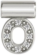 Nomination SeiMia Silver O Initial Letter Charm