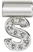 Nomination SeiMia Silver S Initial Letter Charm