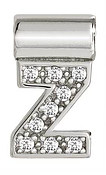 Nomination SeiMia Silver Z Initial Letter Charm