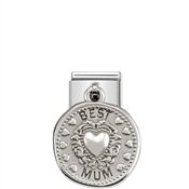Nomination Silver shine Best Mum Charm