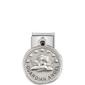 Nomination Silver shine Guardian Angel Charm