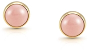 Nomination Pink Coral & Gold Earrings