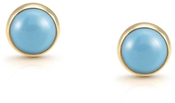 Nomination Turquoise & Gold Earrings