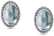 Nomination Blue Topaz Silver Earrings