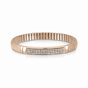 Nomination Swarovski Crystal Rose Gold Extension Bracelet