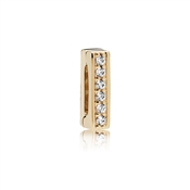 PANDORA Shine Flat Look Timeless Sparkle Charm