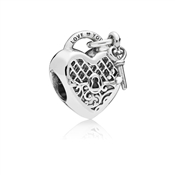 Pandora Silver Love You Lock Charm