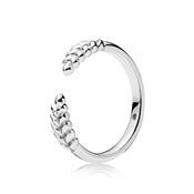 PANDORA Silver Open Grains Ring