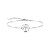 Thomas Sabo Silver Tree of Love Bracelet