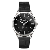 Thomas Sabo Spirit Moonphase Black Mens Watch