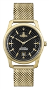 Vivienne Westwood Gold & Black Holborn Watch