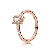 PANDORA Rose Luminous Ice Ring