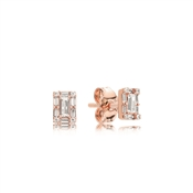 Pandora Rose Luminous Ice Stud Earrings