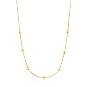Ania Haie Gold Modern Beaded Necklace