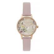 Olivia Burton Vegan Rose Sand Wishing Watch