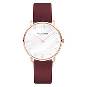 Paul Hewitt Miss Ocean Line Berry + Rose Gold Watch
