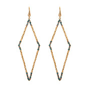 Lily & Rose Jagger Indian Sapphire Earrings