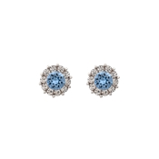 Lily & Rose Miss Sofia Light Sapphire Earrings