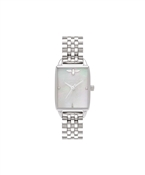 Olivia Burton Mother of Pearl Beehive Rectangle Watch