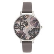 Olivia Burton Twilight London Grey & Silver Watch