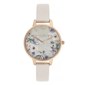 Olivia Burton Mother of Pearl & Pink Watch