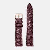 CLUSE Rose Gold & Burgundy Strap