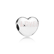 PANDORA Loved Heart Clip