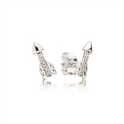 PANDORA Sparkling Arrows Stud Earrings
